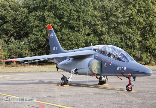 AT-12, Alpha Jet, Belgian Air Force