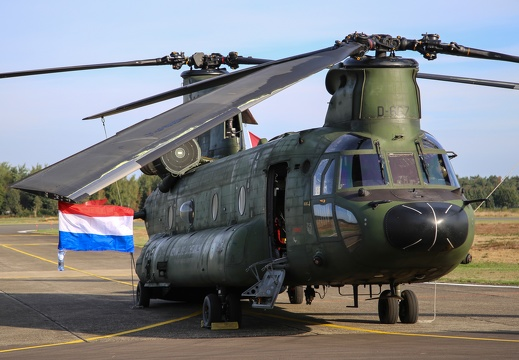 D-667, CH-47D, Royal Netherlands Air Force