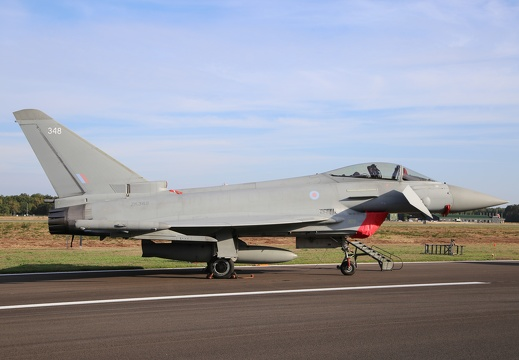 ZK-348, Eurofighter Typhoon, Royal Air Force