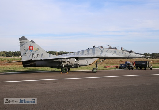 1303, MiG-29UB, Slovakian Air Force