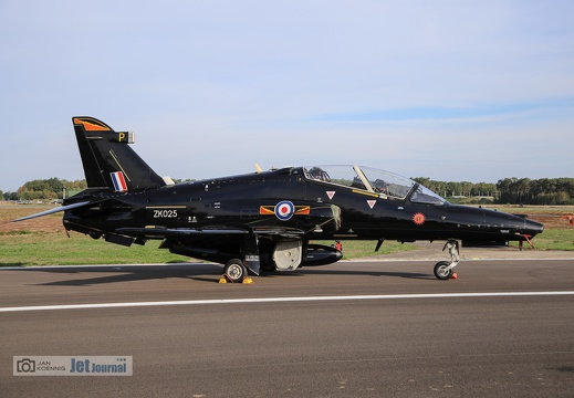 ZK-025, BAe Hawk T.2, Royal Air Force