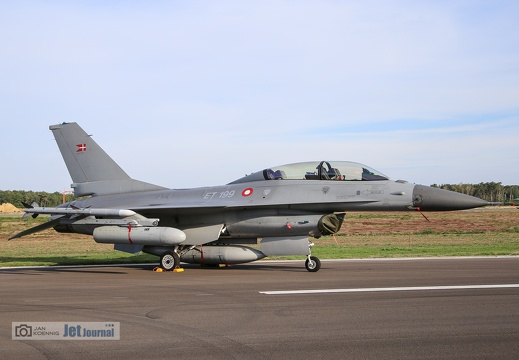 ET-199, F-16BM, Danish Air Force