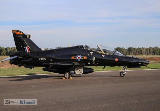 ZK-027, BAe Hawk T.2, Royal Air Force
