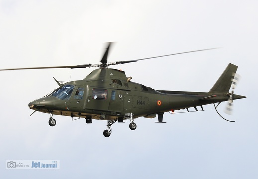 H44, A109, Belgian Air Force