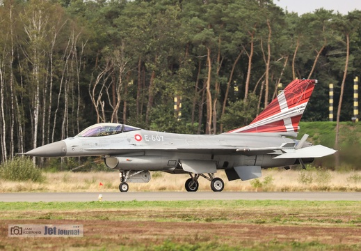 E-607, F-16AM, Danish Air Force