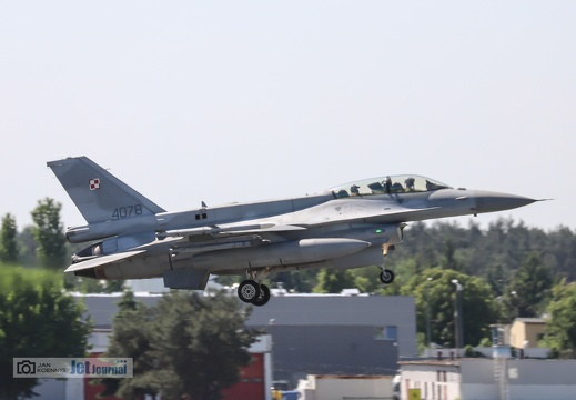 4078, F-16D, Polish Air Force