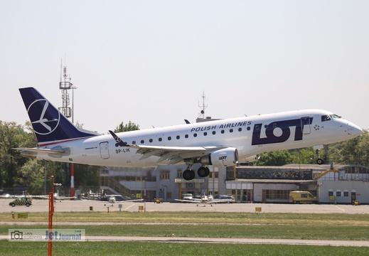 SP-LIK, ERJ-175LR, LOT
