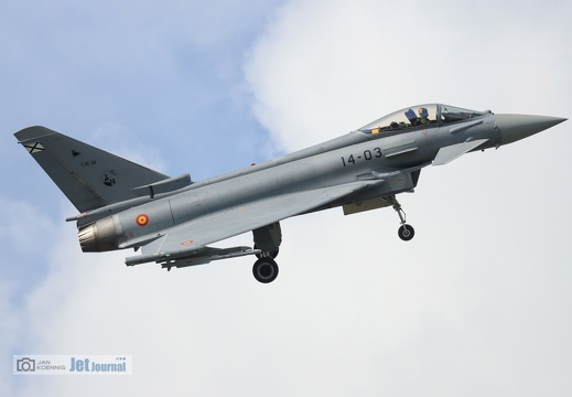 14-03, Eurofighter EF-2000 Typhoon, Spanish Air Force