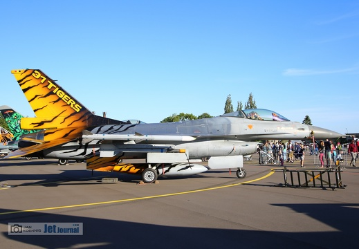 FA-116, F-16AM, Belgian Air Force