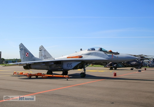105 grau, MiG-29, Polish Air Force