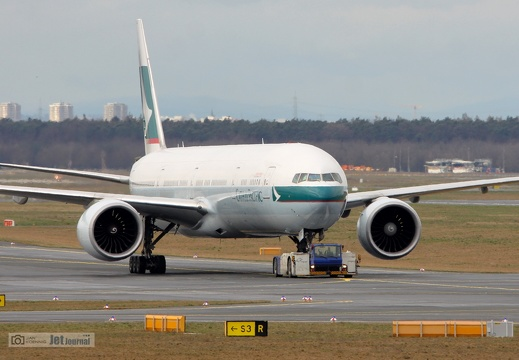 B-KPX, Boeing 777-367ER, Cathay Pacific