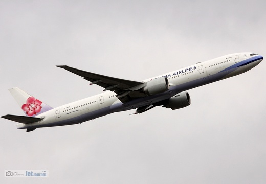 B-18055, Boeing 777-36N(ER), China Airlines