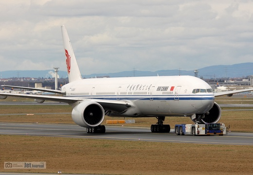 B-2087, Boeing 777-39L(ER), China Airlines