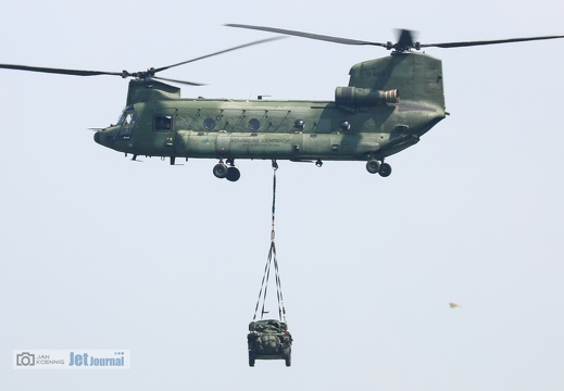D-663, CH-47D Royal Netherlands Air Force