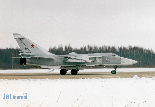 04 weiss, Su-24M, Russian Air Force