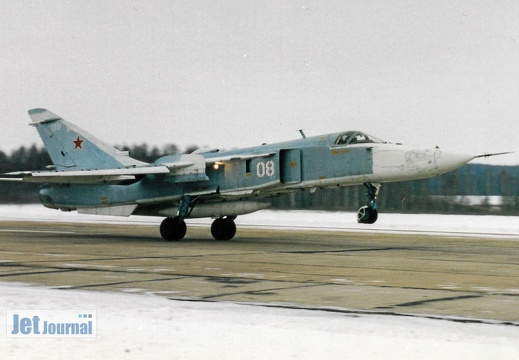 08 weiss, Su-24M, Russian Air Force