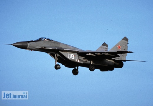 09 weiss, MiG-29, Soviet Air Force