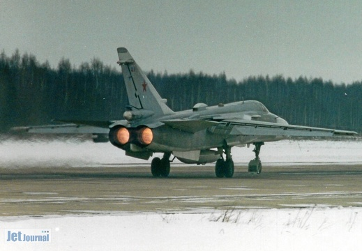 07 rot (?), Su-24MR, Russian Air Force