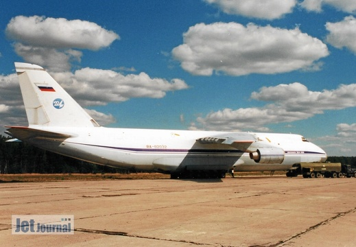 RA-82032, An-124-100, Russian Air Force