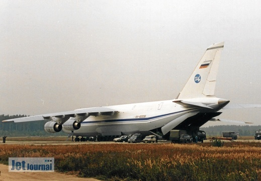 RA-82039, An-124-100, Russian Air Force