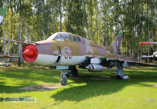 56 rot, Su-17UM3, Russian Air Force