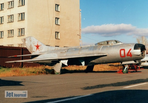 04 rot, MiG-19PM, Soviet Air Force