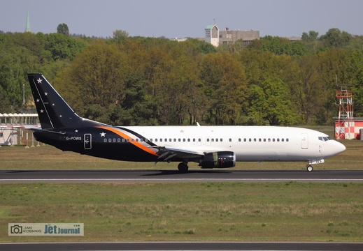 G-POWS, Boeing 737-436, Titan Airways