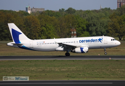 ER-00001, Airbus A320-233, Corendon Airlines Europe