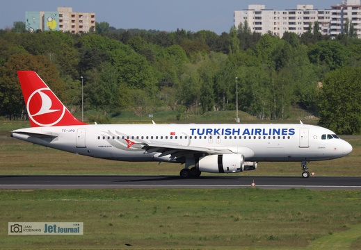 TC-JPO, Airbus A320-232, Turkish Airlines