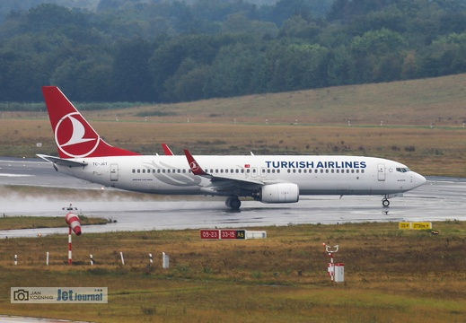 TC-JGT, Boeing 737-8F2, Turkish Airlines